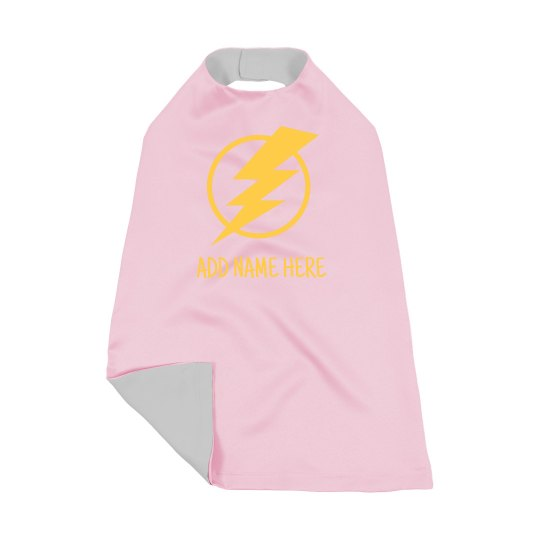 Custom Lightning Bold Superhero Kiddo