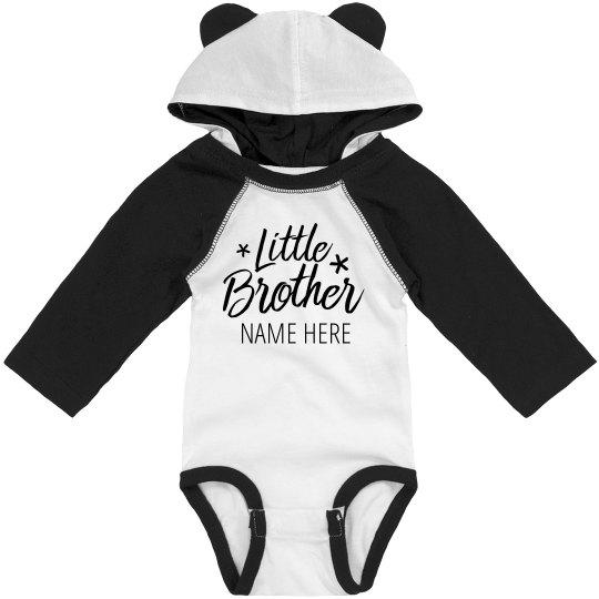 Custom Little Brother Hooded Bodysuit
