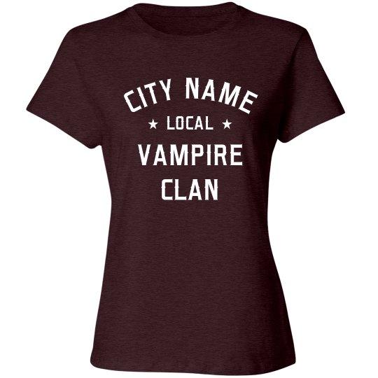 Custom Local Vampire Clan Design