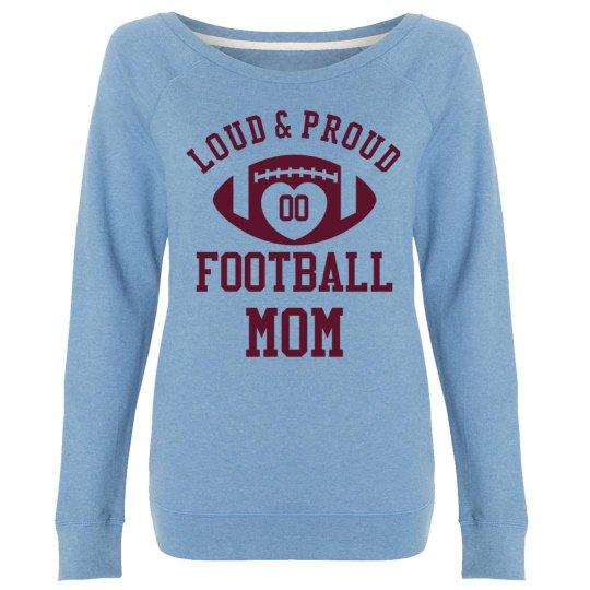 Custom Loud, Proud Football Mom