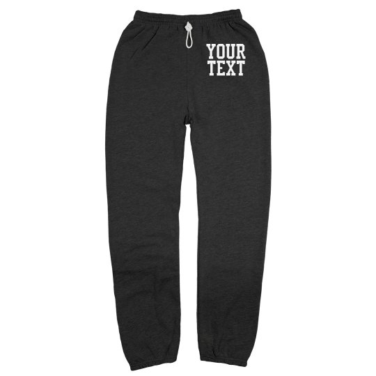 Custom Lounge Sweatpants