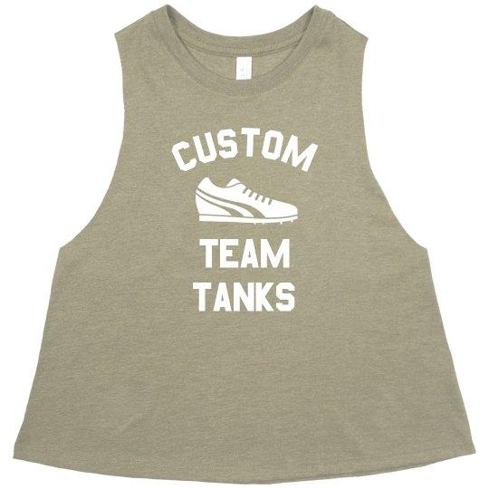 Custom Marathon Muscle Tank