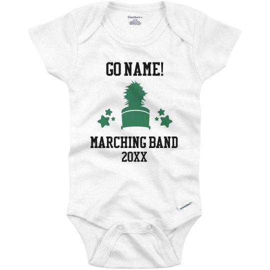 Custom Marching Band Infant Bodysuit