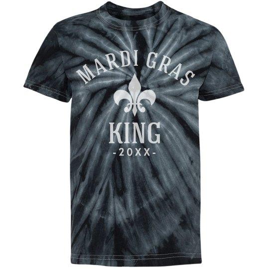 Custom Mardi Gras King Black