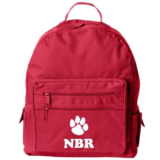 Custom Mascot & Initials School Bag