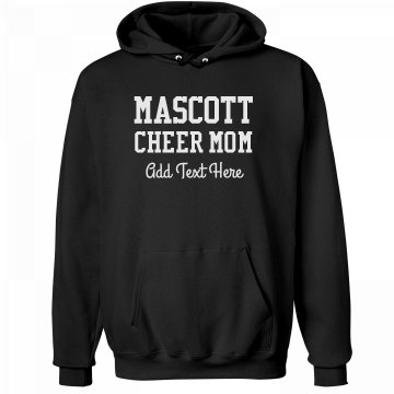 Custom Mascot Cheerleader Mom