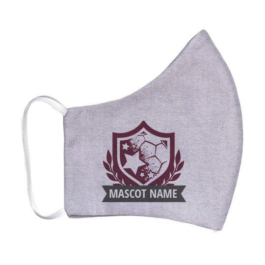 Custom Mascot Soccer Shield Mask