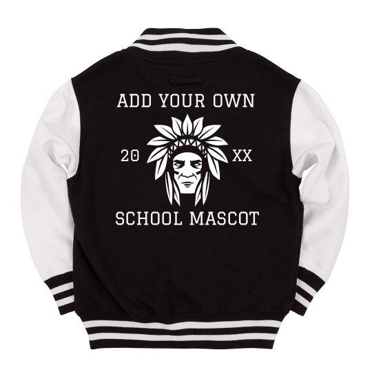Custom Mascot Youth Jacket