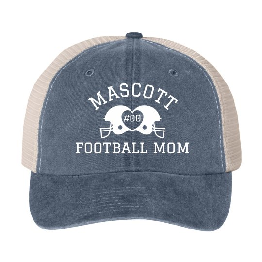 Custom Mascott Footnball Mom