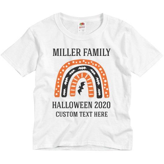 Custom Matching Family Halloween Shirts