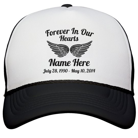 Custom Memorial Hat