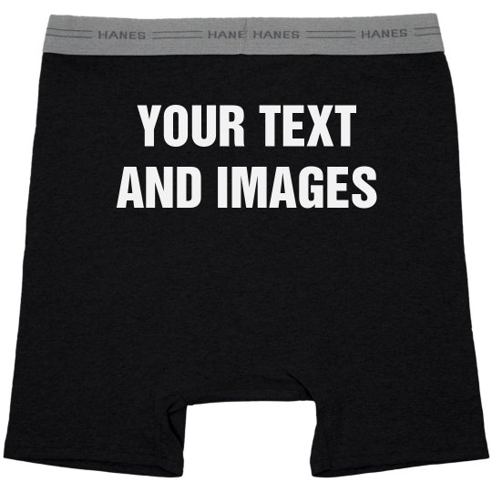 Custom Mens Boxer Briefs Gift