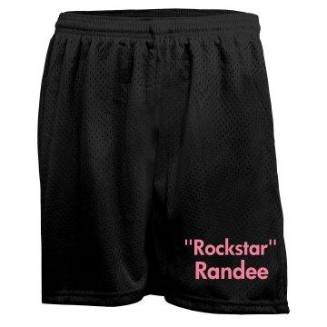 Custom Mesh Sports Shorts