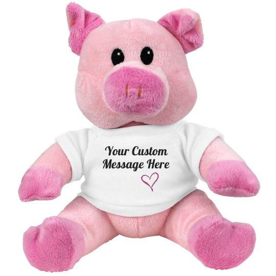 Custom Message Valentine's Gift