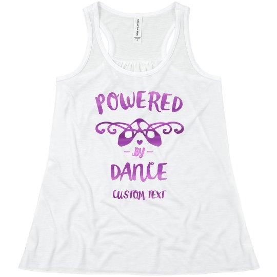 Custom Metallic Powered By Dance