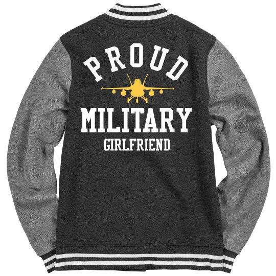 Custom Military Girlfriend Pride