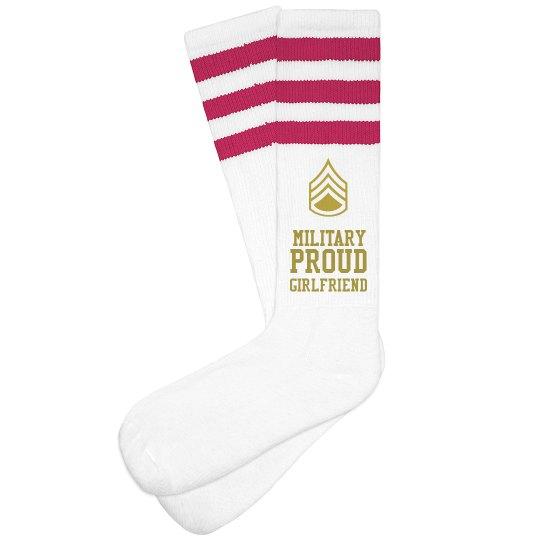Custom Military Girlfriend Socks