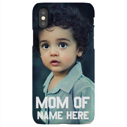 Custom Mom Photo Phone Case