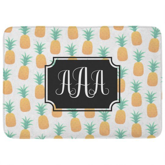 Custom Monogram Pineapples