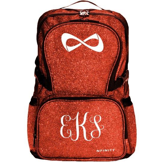 Custom Monogram Sparkle NFinity Backpack