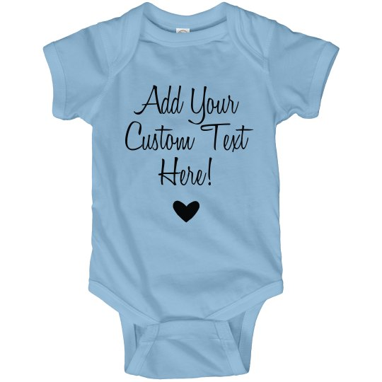Custom Mothers Day Bodysuit Gift