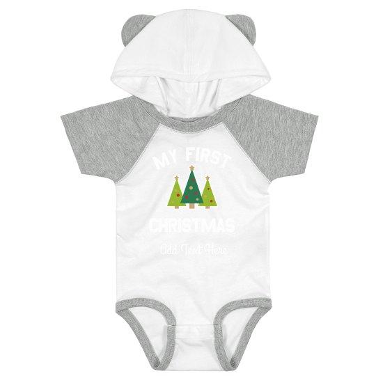 Custom My First Christmas