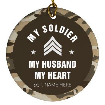 Custom My Soldier Ornament