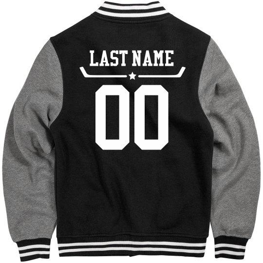 Custom Name & Number Hockey Jacket