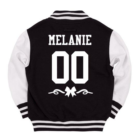 Custom Name & Number Youth Varsity Jacket