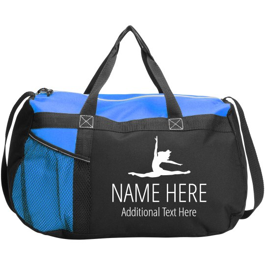 Custom Name & Text Dance Bag