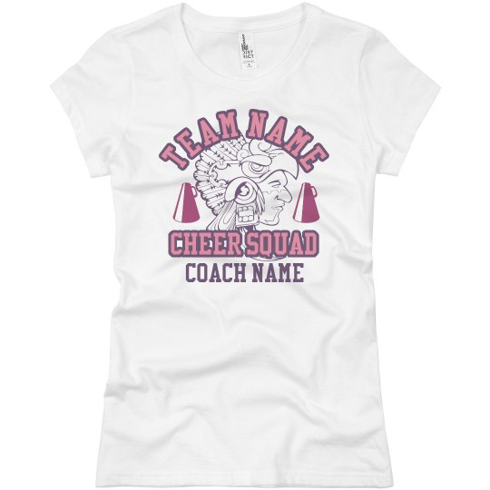 Custom Name and Mascot Cheer Coach