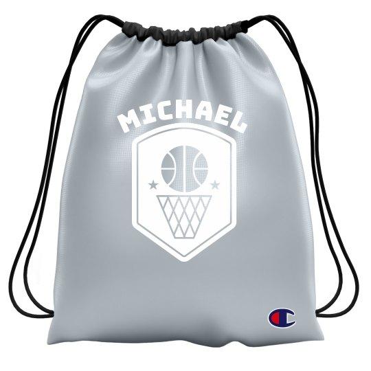 Custom Name Basketball Bag