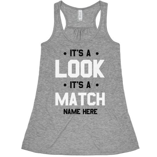 Custom Name Best Friends Look & Match