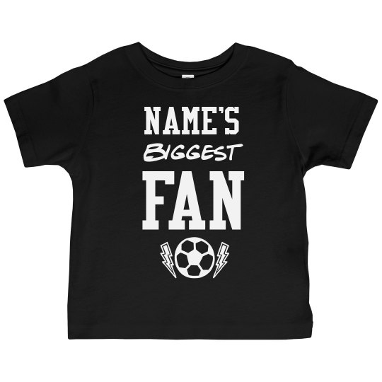 Custom Name Biggest Soccer Fan