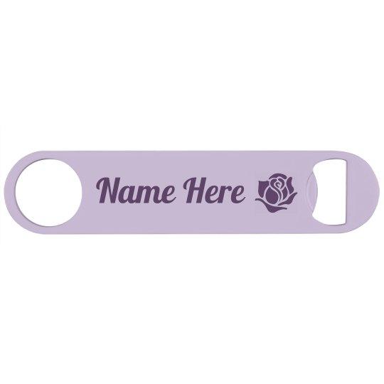 Custom Name Bottle Opener