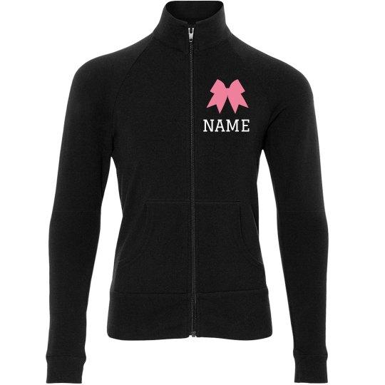 Custom Name Cheer Team Jacket