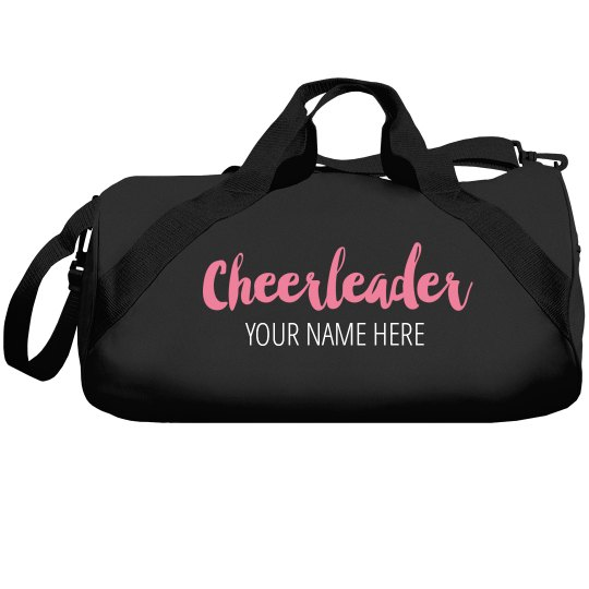 Custom Name Cheerleader Bags