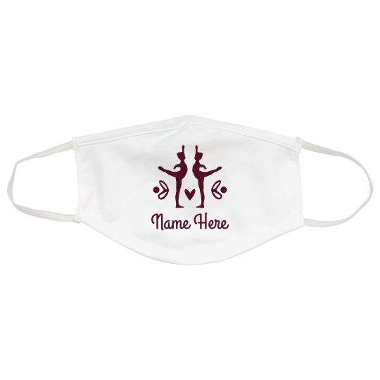 Custom Name Dance Face Mask