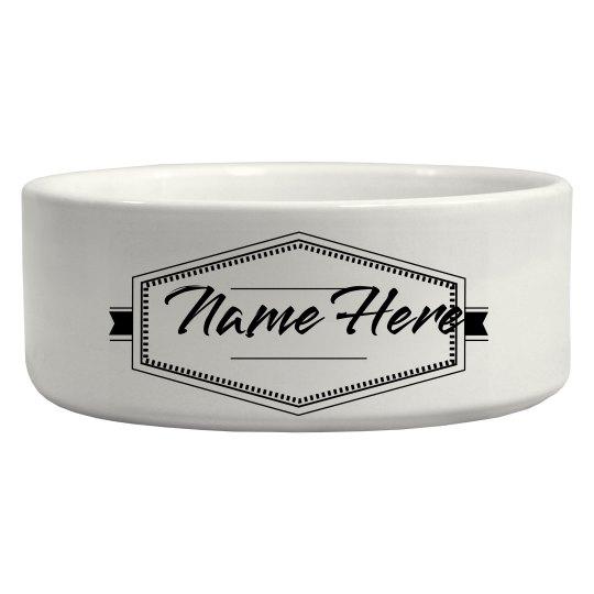 Custom Name Dog Gift