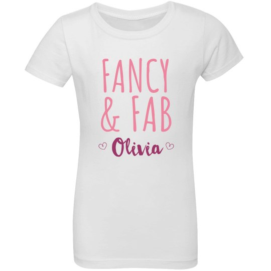 Custom Name Fancy And Fabulous
