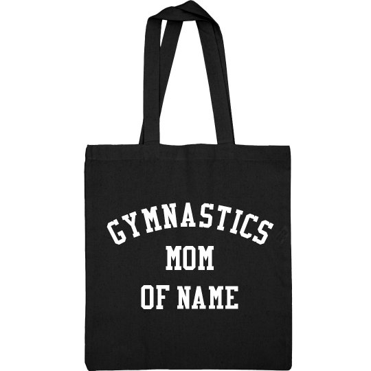 Custom Name Gymnastics Mom Pride