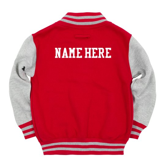 Custom Name Kids Varsity