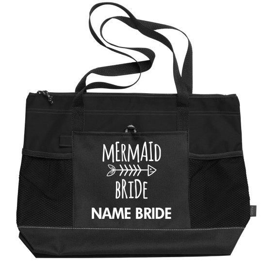 Custom Name Mermaid Bride