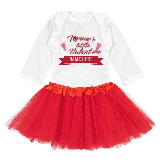 Custom Name Mommy's Tutu Valentine