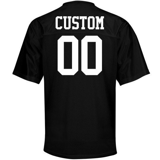 Custom Name Number Mesh Football Jerseys