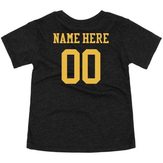 Custom Name Number Sports Kiddo