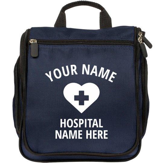 Custom Name Personal Nurse Bag