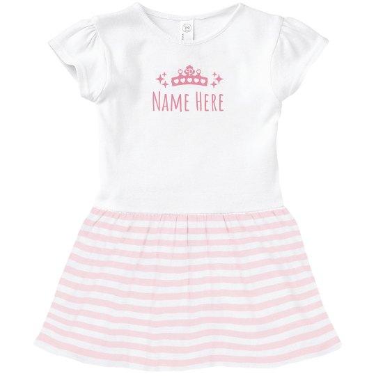 Custom Name Princess Crown
