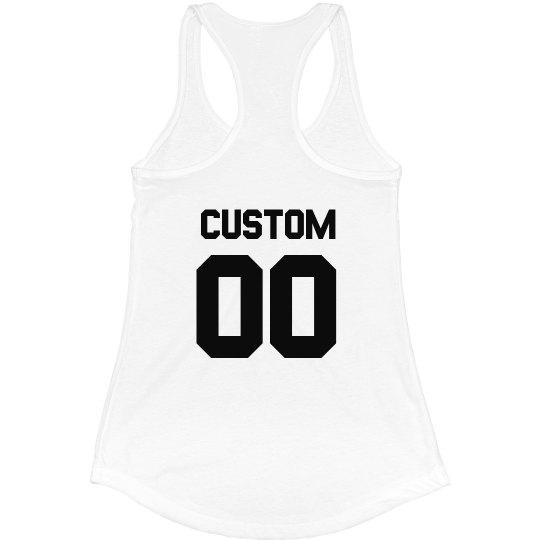 Custom Name Racerback Tank Top