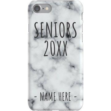 Custom Name Seniors iPhone Case